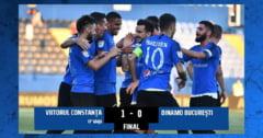 Fotbal - Liga I: FC Viitorul - Dinamo 1-0, in play-out