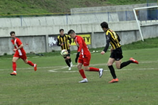 Fotbal/ Liga a III-a: Amical in conditii vitrege