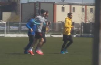Fotbalistii de la FCSB au inceput antrenamentele, in pofida ordonantei militare