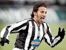 Fotbalul pierde un alt mare jucator: Del Piero se retrage