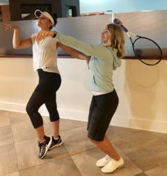 Fotografia hazlie pe care a postat-o Nadia Comaneci alaturi de Bianca Andreescu, dupa triumful acesteia la US Open