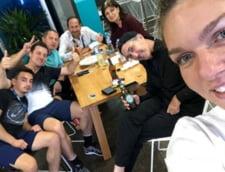 Fotografia postata de Simona Halep la scurt timp dupa infrangerea din finala la Australian Open