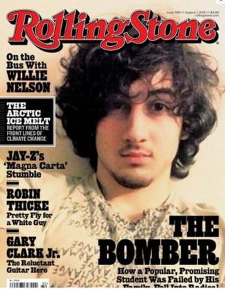Fotografia teroristului din Boston de pe coperta Rolling Stone i-a dublat vanzarile