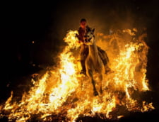 Fotografia zilei: Calaretul de foc
