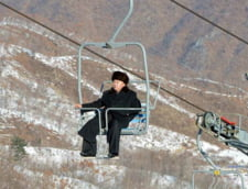 Fotografia zilei: Dictatorul din Coreea de Nord, in aer