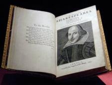 Fotografia zilei: Un Shakespeare de 6 milioane de dolari