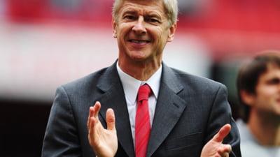 Fotografia zilei: Wenger a starnit hohote de ras in Anglia