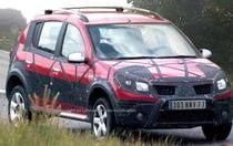 Fotografie spion cu Dacia Sandero SUV