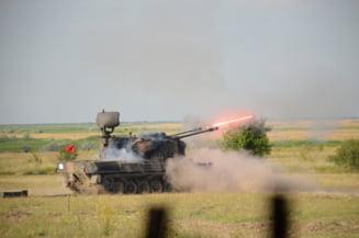 Fotografii cu sistemul antiaerian Gepard din Turda, dislocat in premiera in misiunea NATO din Polonia