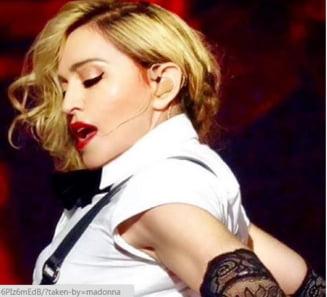 Fotografii nud cu Madonna la 20 de ani, expuse la Paris