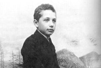 Fotografii rare din tineretea celor celebri (Galerie foto) - Iata-l pe Einstein in copilarie!