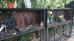 Fotografiile victimelor din Colectiv au fost furate de la altarul special amenajat