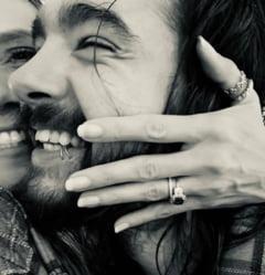 Fotomodelul Heidi Klum s-a logodit cu chitaristul Tom Kaulitz