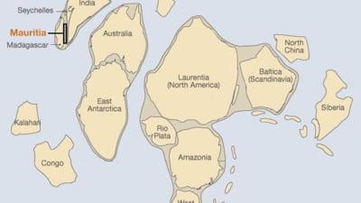 Fragmente dintr-un continent pierdut se afla in Oceanul Indian