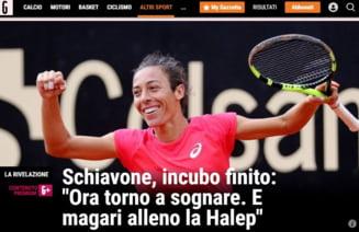 Francesca Schiavone a invins cancerul si acum vrea s-o antreneze pe Simona Halep