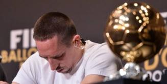Franck Ribery, distrus dupa decernarea Balonului de Aur