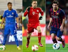 Franck Ribery ii subestimeaza pe Messi si Ronaldo