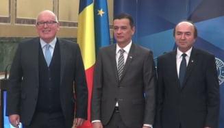 Frans Timmermans (CE), in vizita oficiala la Bucuresti: Ce trebuie sa faca Guvernul si Parlamentul, si cand va scapa Romania de MCV