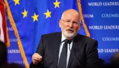 Frans Timmermans: Sper ca Romania va veni in curand cu un plan de renuntare totala la carbune; aceasta resursa nu are niciun viitor