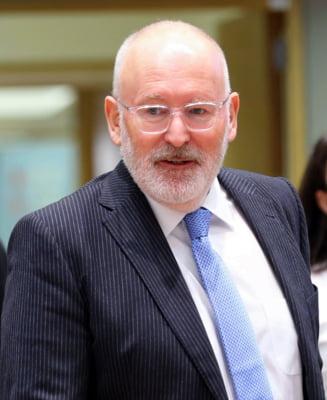 Frans Timmermans cere salarii egale pentru femei si barbati in Uniunea Europeana