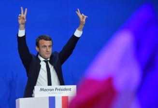 Franta, En Marche! Emmanuel Macron este noul presedinte, votat de peste 66% dintre alegatori