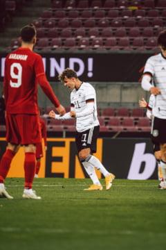 Franta a dat de pamant cu Ucraina, 7-1, intr-un meci amical. Spectacol si la Koln, unde Germania a facut egal cu Turcia, 3-3