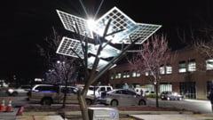 """Franta a inaugurat primul """"eArbore"""" din Europa, cu """"frunze"""" fotovoltaice (Video)"""