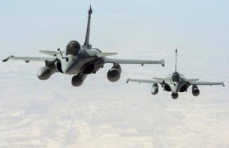 Franta a lansat primele atacuri aeriene impotriva Statului Islamic