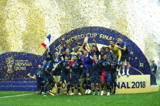 Franta cucereste a doua Cupa Mondiala din istorie, dupa o finala nebuna in fata Croatiei
