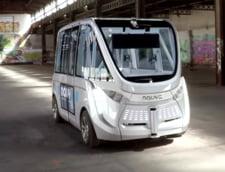 Franta introduce in premiera mondiala microbuze fara sofer pentru transportul pasagerilor