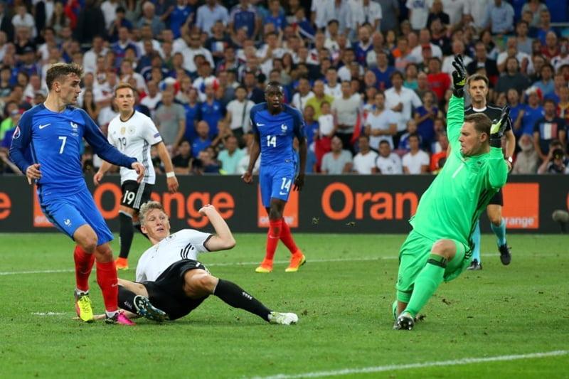 Franta invinge Germania si se califica in finala EURO 2016