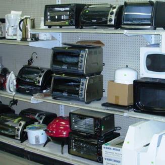 Frauda cu electrocasnice in Romania - Opt supermarketuri au conturile blocate