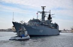 "Fregata ""Regele Ferdinand"", misiune NATO in Marea Mediterana"