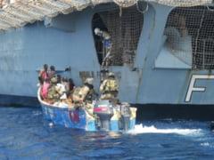 """Fregata """"Regele Ferdinand"""" a capturat pirati somalezi"""