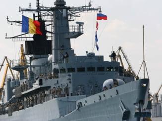 Fregata Regele Ferdinand a executat 70 de misiuni in Marea Mediterana