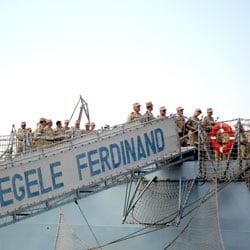 Fregata Regele Ferdinand trebuia modernizata in 2010, dar nu au fost bani