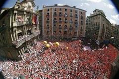 Frenezie la Pamplona - sarbatoarea sfantului Fermin si coridele