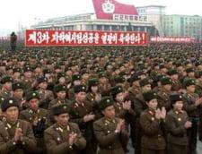 """Frenezie pe strazile din Coreea de Nord: """"Moarte imperialistilor americani!"""""""