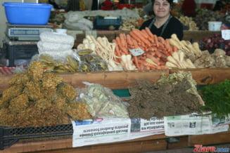 Fructe si legume cu substante toxice, pe piata din Romania