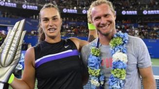 Frumoasa Aryna Sabalenka, campioana de la Madrid, relatie fierbinte cu antrenorul ei