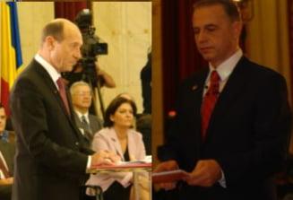 Fuga lui Geoana de gafele lui Basescu