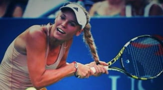 Fumoasa Wozniacki, problema neobisnuita in timpul unui meci la US Open