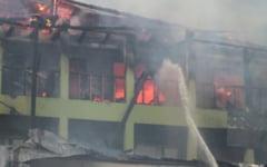 Functionarii APIA Mihailesti, vinovati de producerea incendiului care a distrus sediul institutiei