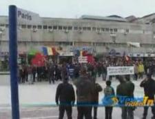 Functionarii publici au protestat la Targoviste