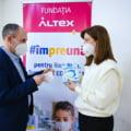 Fundatia Altex a livrat catre Inspectoratele Scolare Judetene toate cele peste 540.000 de echipamente de protectie ridicata in valoare de peste 1 milion de euro