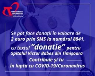 Fundatia Laurentiu Ciucur a virat a doua transa de bani de 137.746 lei Asociatiei Dr. Victor Babes Timisoara