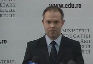 Funeriu, nemultumit de bugetul alocat Ministerului Educatiei