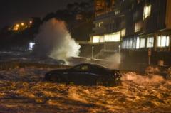 Furtuna Eleanor a facut prapad in Europa. Mai multi oameni si-au pierdut viata