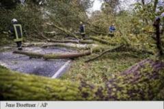 Furtuna Xavier face ravagii in Germania: Un mort si peste zece raniti