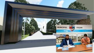 GALERIE FOTO: A fost semnat contractul pentru modernizarea Parcului BaE lcescu